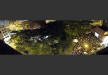 After: And brought hundreds of people together for cultural activities and movie nights outside.