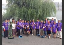VietAID community clean up efforts