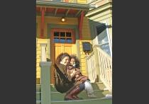 Jamaica Plain NDC: A new homeowner and her daughter